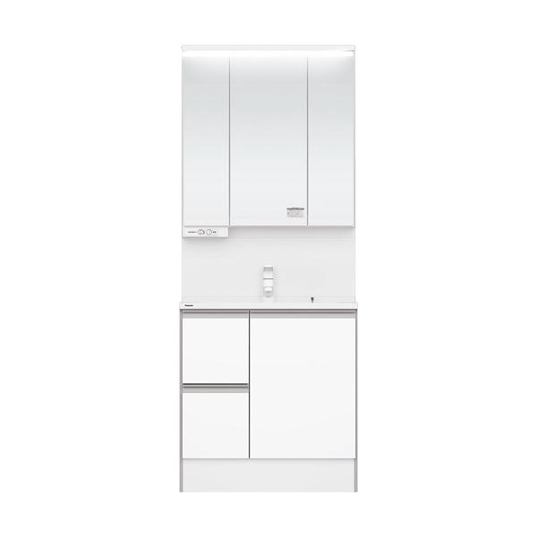 洗面化粧台 Panasonic パナソニック C-Line シーライン 新スタンダードD530タイプ ベースプラン 幅750 ホワイト 一般地仕様 送料無料