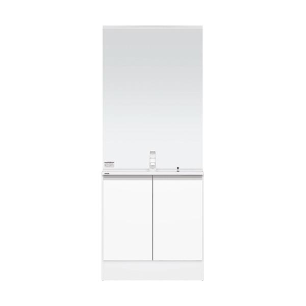 洗面化粧台 Panasonic パナソニック C-Line シーライン スリムD450タイプ ベースプラン 幅750 ホワイト 一般地仕様 送料無料