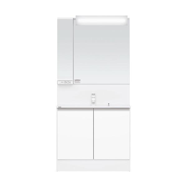 洗面化粧台 Panasonic パナソニック C-Line シーライン スリムD450タイプ ベースプラン 幅900 ホワイト 一般地仕様 送料無料