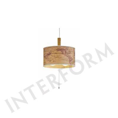 要在庫確認/照明器具 インターフォルム ペンダントライト Jorden-wood-(ユーデンウッド) LT-9527