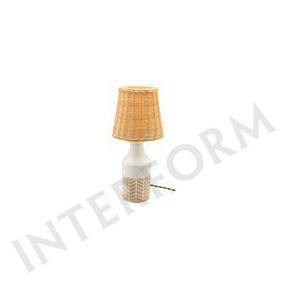 要在庫確認/屋内照明 インターフォルム テーブルランプ Kivioli(キビオリ) LT-1647 WH