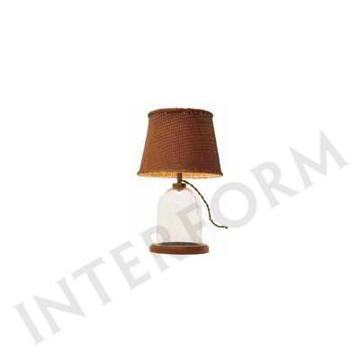 照明器具 インターフォルム インテリア テーブルランプ Terrarium Lamp テラリウムランプ LT-1460 BN 送料無料