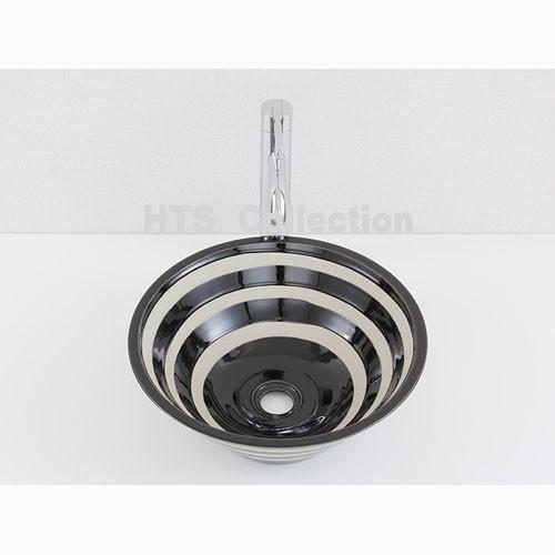 輸入洗面ボウル アートセラミック洗面ボウル HTS Collection FCD025 洗面化粧台 送料無料 個性的 デザイン性