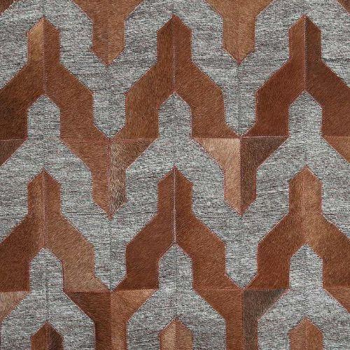 DULTON A649-650B1420 ラグ ヤギ インド ラグジュアリー絨毯 柄 インテリア