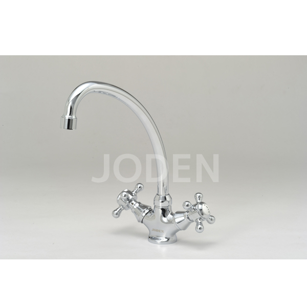 JODEN 水栓金具 ビクトリアシリーズ 2ハンドル混合水栓 2PCVS