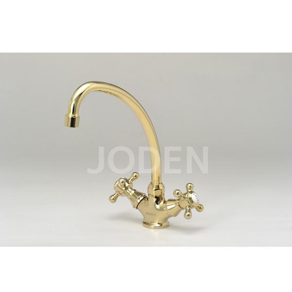 JODEN 水栓金具 ビクトリアシリーズ 2ハンドル混合水栓 2PCVG