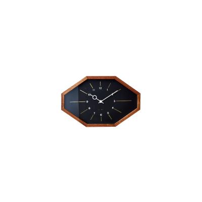 INTERFORM 壁掛け時計 Belmonte(ベルモンテ) CL-3024 BK 雑貨 インテリア おしゃれ ウォールクロック インターフォルム スタンダード