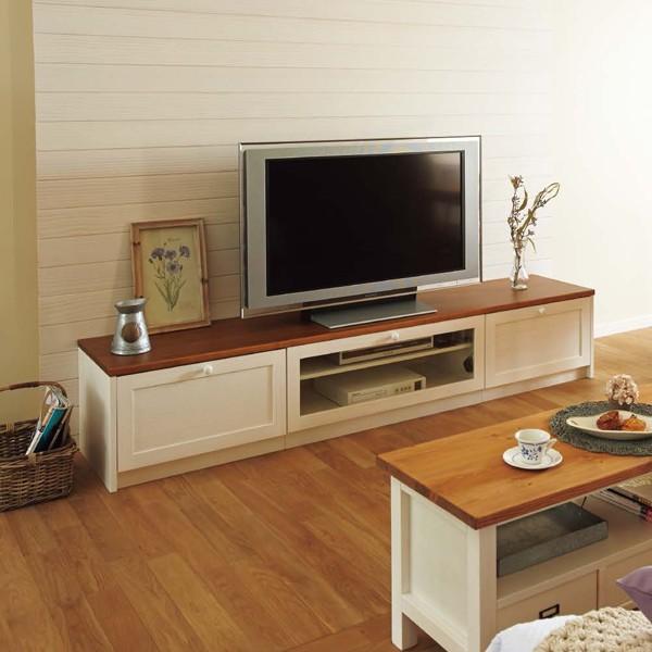WOODONE ウッドワン 無垢の木の収納 TVボードプラン BP-005 テレビまわり ニュージーパイン オーク メープル ウォールナット システム収納