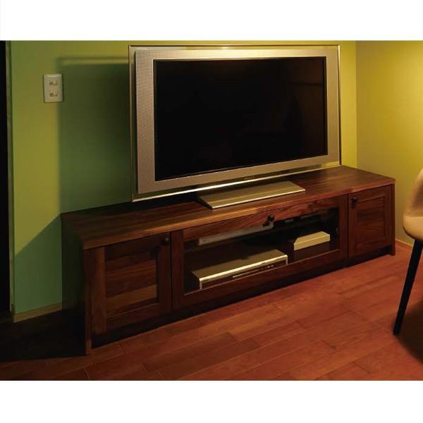 WOODONE ウッドワン 無垢の木の収納 TVボードプラン BP-006 テレビまわり ニュージーパイン オーク メープル ウォールナット システム収納