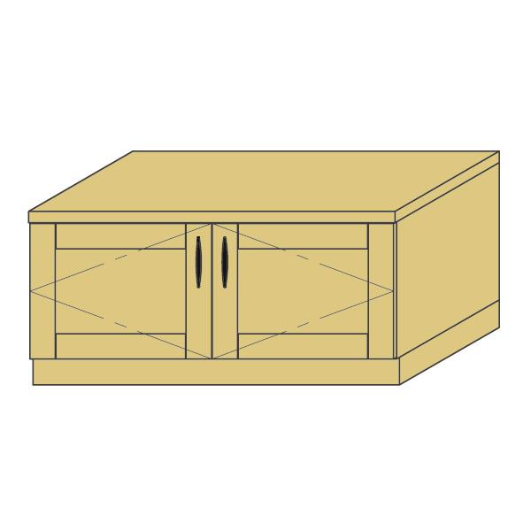 LOHAS material 造作家具 ローボード ZL-PM4-T031 1mm単位 オーダー 可能 自然素材 木製 手作り 特注