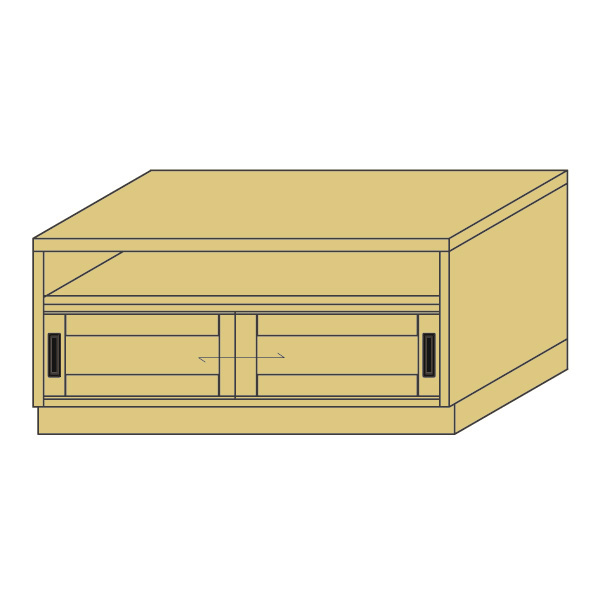 LOHAS material 造作家具 ローボード ZL-PM4-T181 1mm単位 オーダー 可能 自然素材 木製 手作り 特注