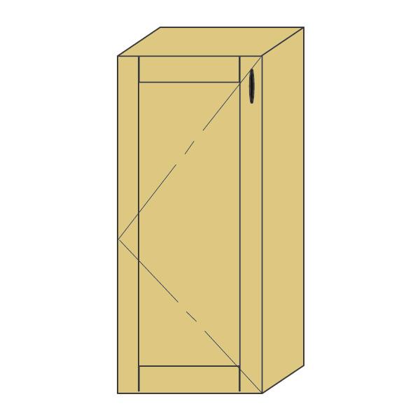 LOHAS material 造作家具 ウォールキャビネット ZW-PM4-T0101mm単位 オーダー 可能 自然素材 木製 手作り 特注