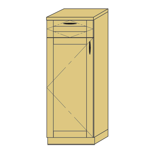 LOHAS material 造作家具 ハイカウンターキャビネット ZH-PM4-T070 1mm単位 オーダー 可能 自然素材 木製 手作り 特注