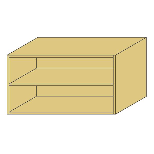 LOHAS material 造作家具 アッパーキャビネット ZU-PMN-N001 1mm単位 オーダー 可能 自然素材 木製 手作り 特注