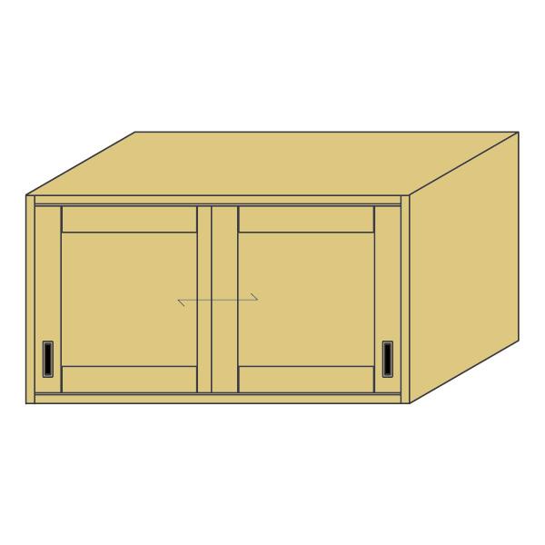 LOHAS material 造作家具 アッパーキャビネット ZU-PM4-T1311mm単位 オーダー 可能 自然素材 木製 手作り 特注