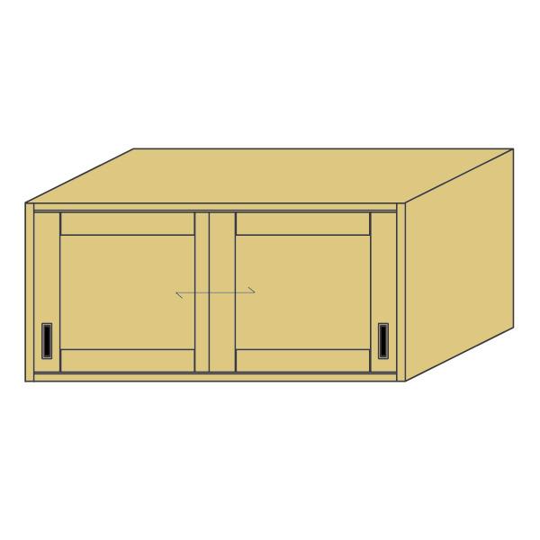 LOHAS material 造作家具 アッパーキャビネット ZU-PM4-T1321mm単位 オーダー 可能 自然素材 木製 手作り 特注