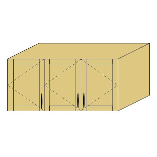 LOHAS material 造作家具 アッパーキャビネット ZU-PM4-T1921mm単位 オーダー 可能 自然素材 木製 手作り 特注