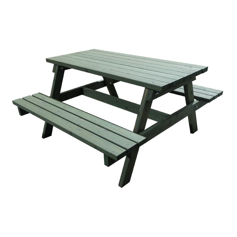 完成サイズW1800×D1500 自然オイル塗装 Picnic Table ピクニックテーブル AP-1815-T〇〇 秋田杉 OK-DEPOT material 組立 DIY テーブルセット プレカット済