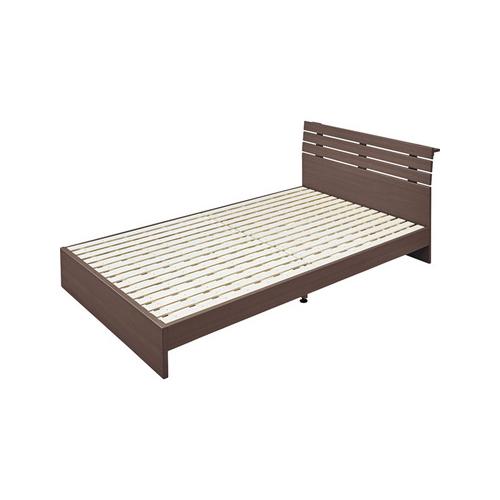 OK-DEPOT material 家具 セミダブルベッド B-80SD-BR 送料無料 おしゃれ ベッド 寝具 ダイニング 寝室 デザイン シンプル ナチュラル