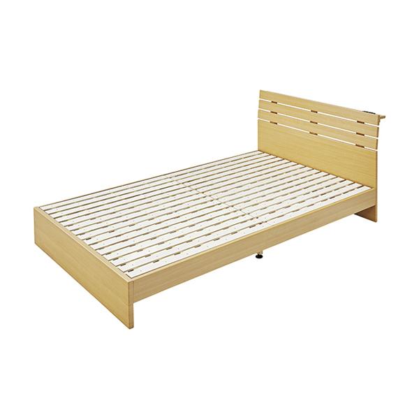 OK-DEPOT material 家具 セミダブルベッド B-80SD-NA 送料無料 おしゃれ ベッド 寝具 ダイニング 寝室 デザイン シンプル ナチュラル