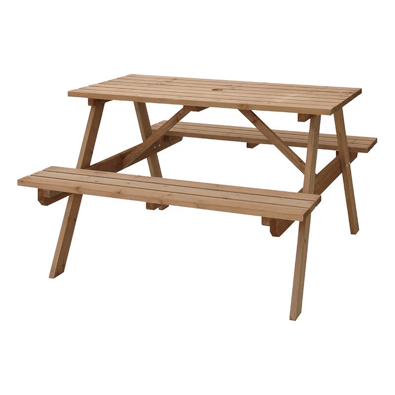 OK-DEPOT material 家具 テーブル&ベンチ W120 ODS-92LBR 送料無料 おしゃれ インテリア リビング ダイニング 寝室 デザイン シンプル ナチュラル