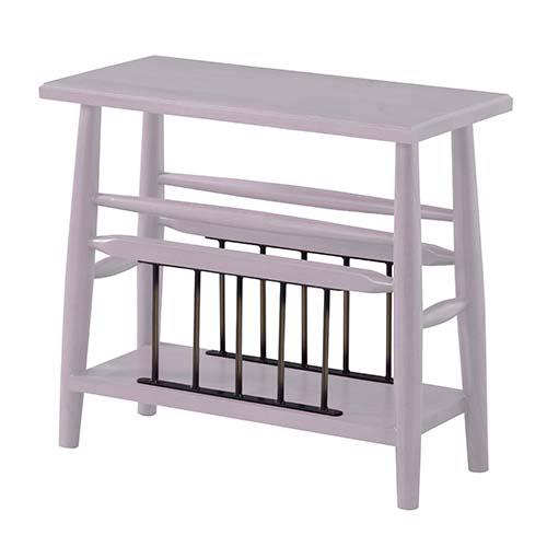 OK-DEPOT material 家具 ブリジット サイドテーブル PM-313WH 送料無料 おしゃれ インテリア リビング ダイニング 寝室 デザイン シンプル ナチュラル