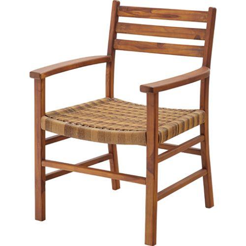 家具 OK-DEPOT material チェア ダイニングチェア アーム付 NRS-422