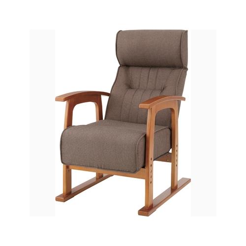 家具 OK-DEPOT material クレムリン キング高座椅子 THC-106BR