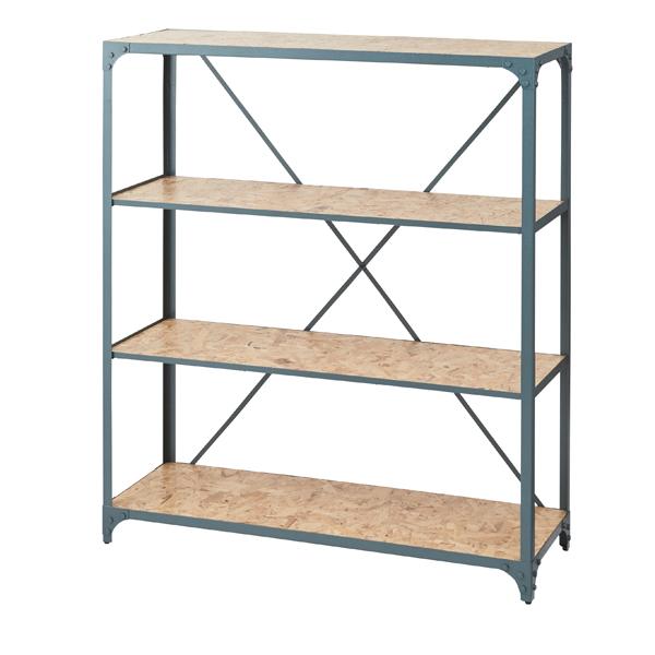 家具 OK-DEPOT material ワイドラック3段 DIS-937GR