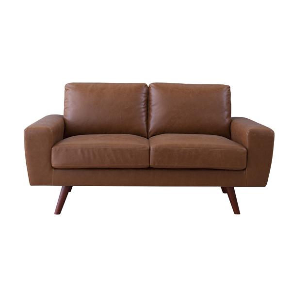 家具 OK-DEPOT material ジェネラル 2人掛 GS-77LBR