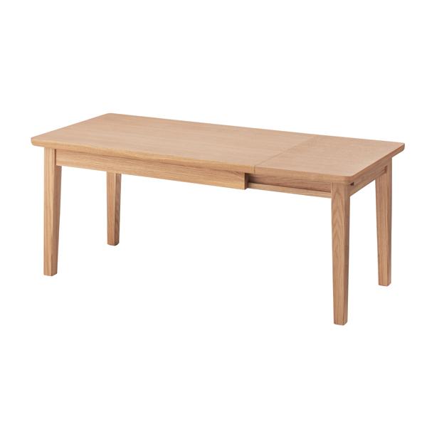 家具 OK-DEPOT material エクステンションセンターテーブル NYT-763NA 机 デスク リビング 書斎