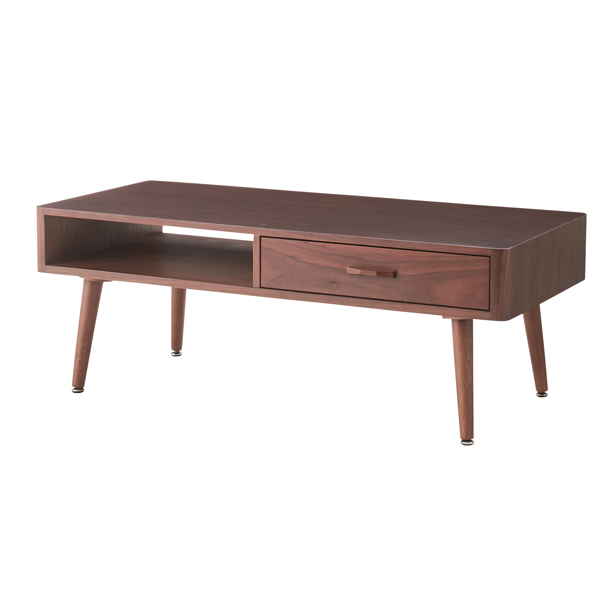 家具 OK-DEPOT material センターテーブル NYT-782WAL 机 デスク リビング 書斎