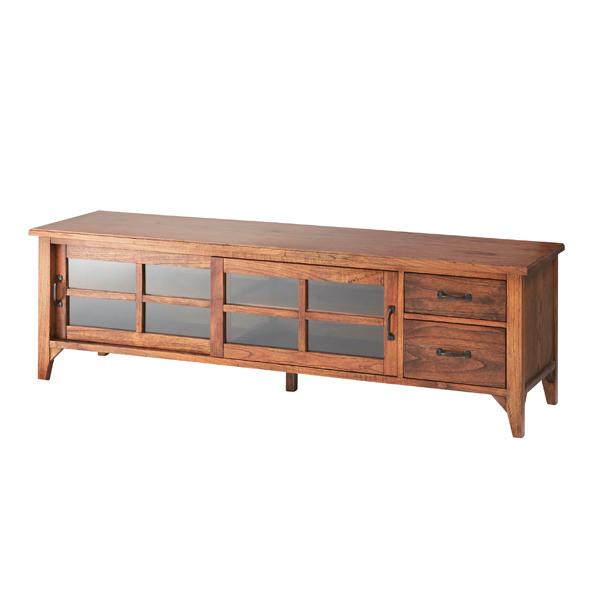家具 OK-DEPOT material ティンバー ローボードワイド PM-306 リビング ダイニング 寝室 おしゃれ 送料無料