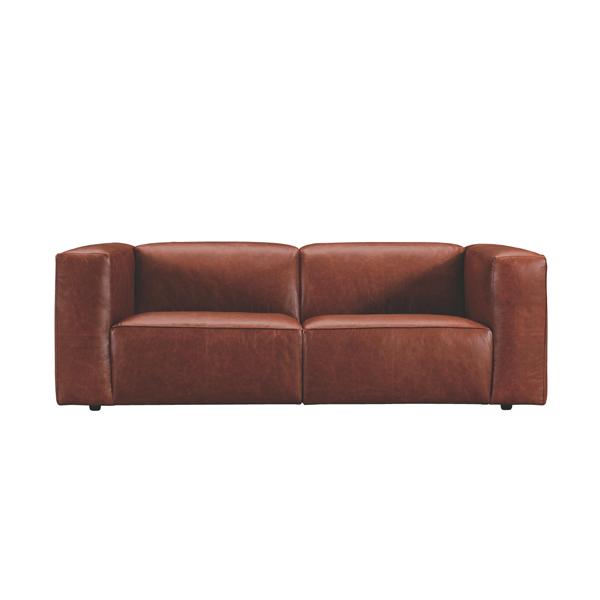 家具 OK-DEPOT material エレファント 2シーター WE-332LBR