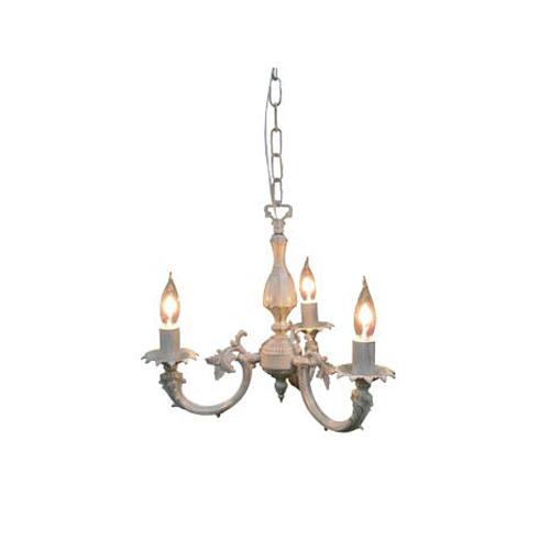 照明器具 サンヨウ アンティーク調 屋内 リビング 廊下 シェード ランプ 真鍮 灯具 シャンデリア FC-458R3 送料無料