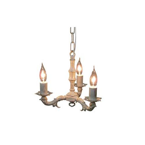 照明器具 サンヨウ アンティーク調 屋内 リビング 廊下 シェード ランプ 真鍮 灯具 シャンデリア FC-693R3 送料無料
