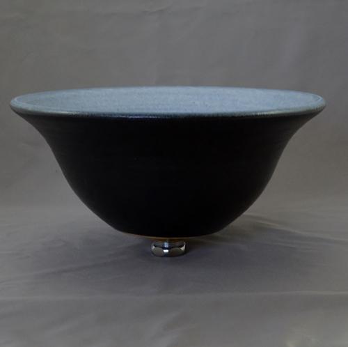重蔵窯 洗面ボウル MEBIUS Design Bowl MEBI-0032BB ブルーブラック 洗面化粧台 送料無料 個性的 デザイン性