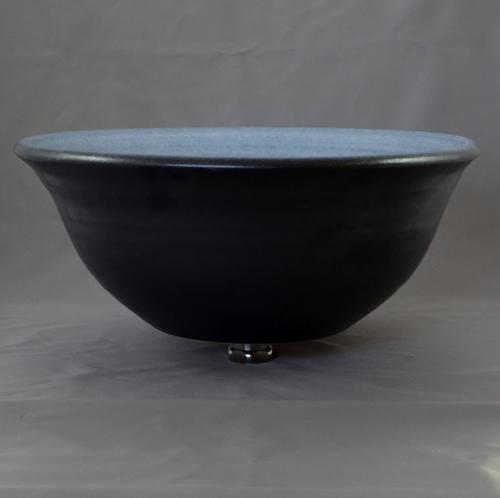重蔵窯 洗面ボウル MEBIUS Design Bowl MEBI-0036BB ブルーブラック 洗面化粧台 送料無料 個性的 デザイン性