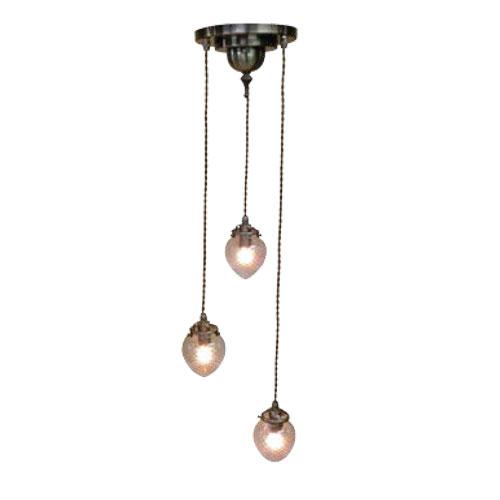 照明器具 サンヨウ アンティーク調 屋内 リビング 廊下 シェード ランプ 真鍮 灯具 シャンデリア FC-202A3 336 送料無料