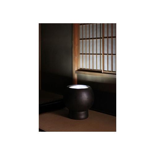 重蔵窯 水琴窟 HAMON 光の琴音-202 すいきんくつ いぶし銀 引き出物 直営店 送料無料