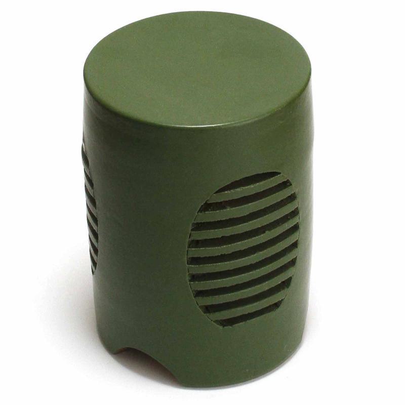 照明器具 重蔵窯 信楽 利休信楽焼 信楽 RS-G グリーン 送料無料 送料無料