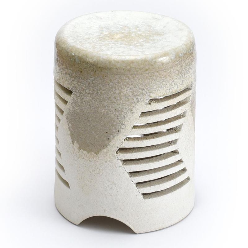照明器具 重蔵窯 信楽 利休信楽焼 信楽 RS-B2 白窯変 送料無料 送料無料
