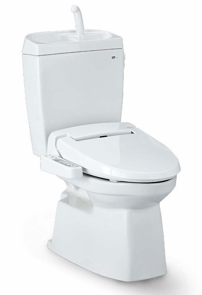 Janis ジャニス タンク式トイレ ValueCleanシリーズ バリュークリン2 陶器製 手洗なし サワレット590 床排水仕様 送料無料
