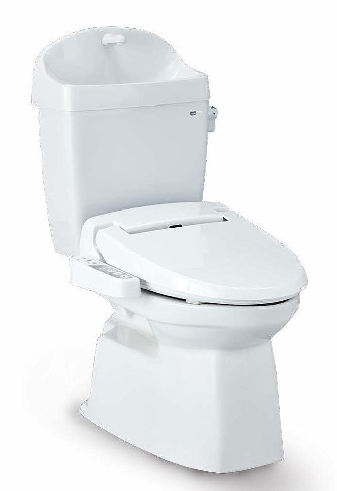Janis ジャニス タンク式トイレ ValueCleanシリーズ バリュークリン2 樹脂製タンク 手洗あり サワレット590 床排水仕様 送料無料
