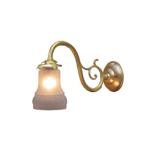 照明器具 サンヨウ アンティーク調 屋内 リビング 廊下 シェード ランプ 真鍮 灯具 ウォールランプ FC-W1560G 323 送料無料