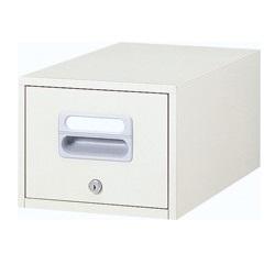 ホワイト色 卓上キャビネット A5サイズ 送料別 【A5-11W】