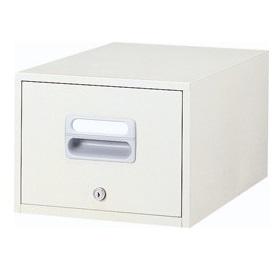 ホワイト色 卓上キャビネット B5サイズ 送料別 【B5-11W】