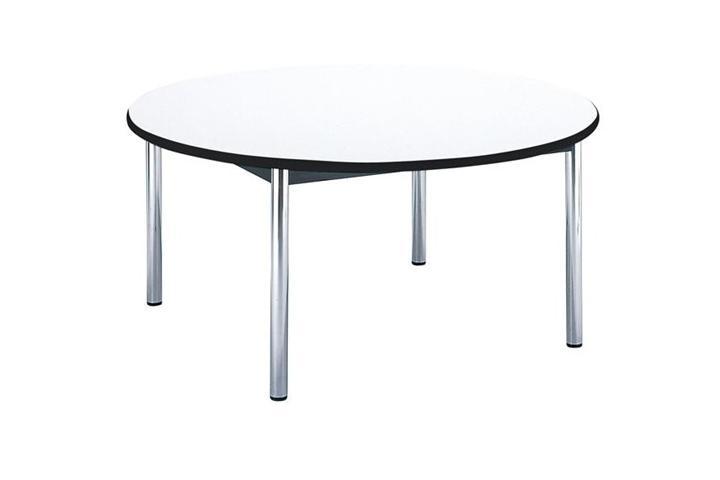 【受注生産品】会議用テーブル 円型・四本脚 直径1200×高さ700mm [BZ-1200R]
