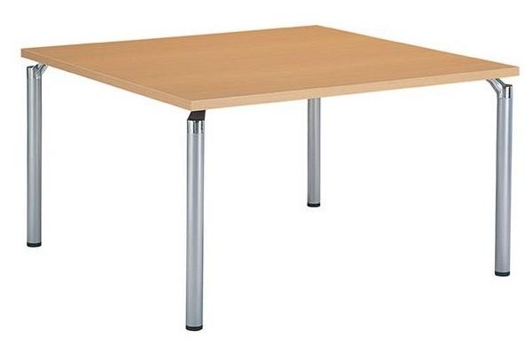 【受注生産品】システム会議テーブル 角型 幅1200×奥行1200×高さ700mm 【GK-1212K】