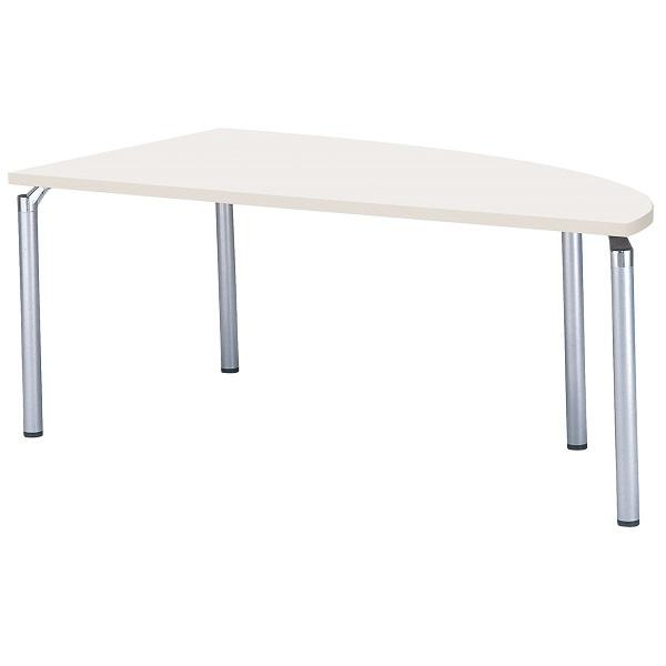 【受注生産品】システム会議テーブル 変型 幅1800×奥行900×高さ700mm 【GK-1890QR】